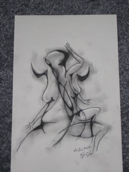 Wall Art - Drawing - Dance by William Alton