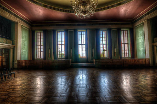 Victorian House Digital Art - Dance Windows  by Nathan Wright