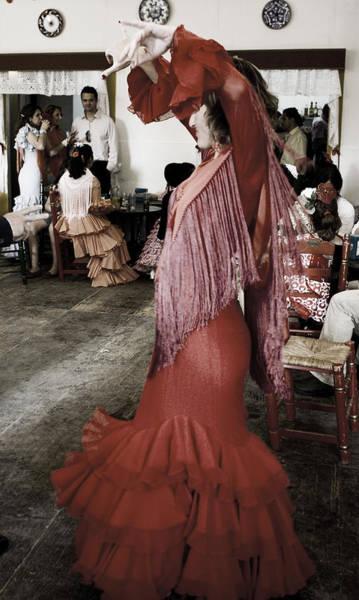 Photograph - Dancer In A Red Dress by Lorraine Devon Wilke