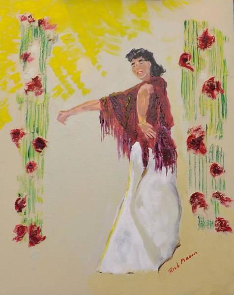 Wall Art - Painting - Dancer by Rich Mason