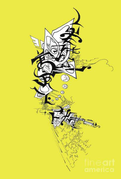 Drawing - Dancing Angel by Joey Gonzalez