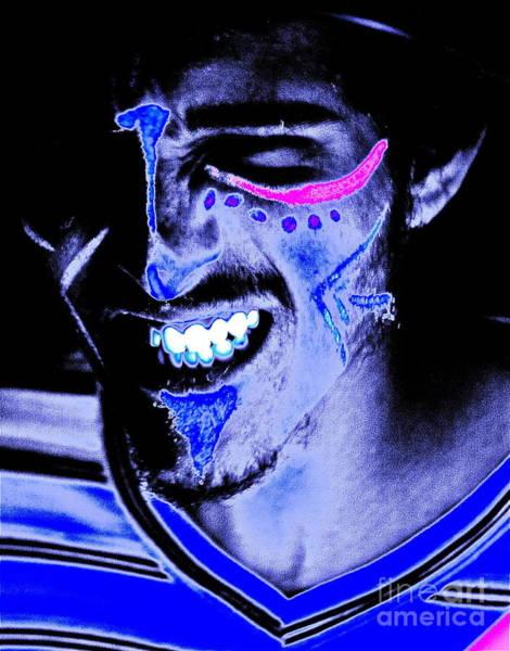 Blacklight Painting - Dancing In The Dark by Xn Tyler