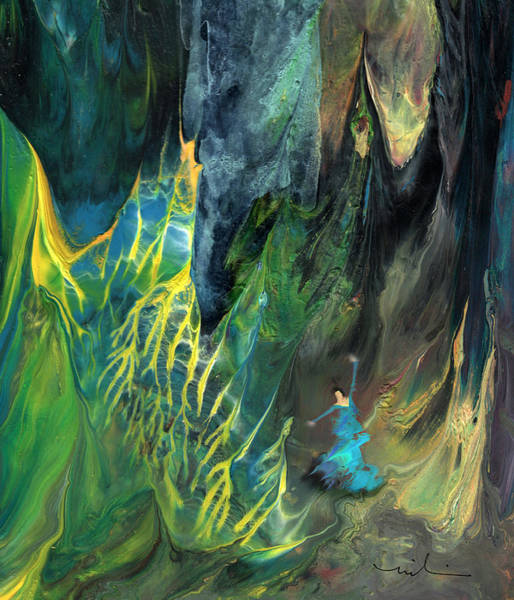 Painting - Dancing In The Forest by Miki De Goodaboom