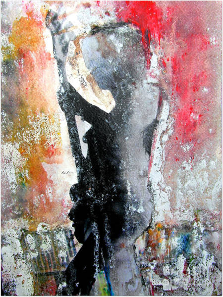 Concert Painting - Dancing In The Moonlight by Bri Buckley
