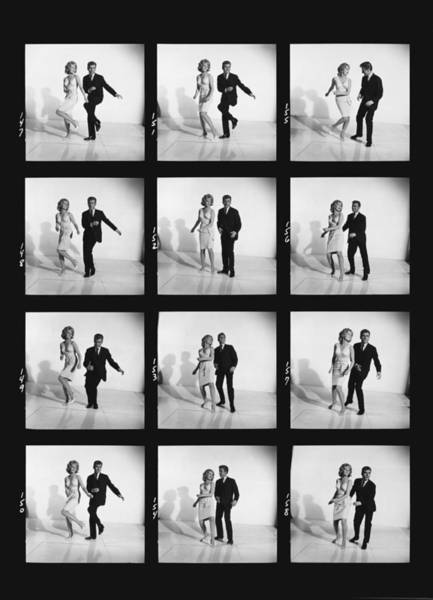 Photograph - Dancing The Twist by Underwood Archives