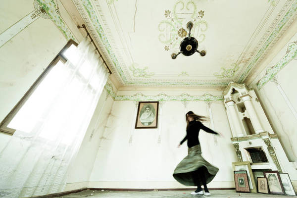 Ceiling Photograph - Dancing Time by Eli Driu