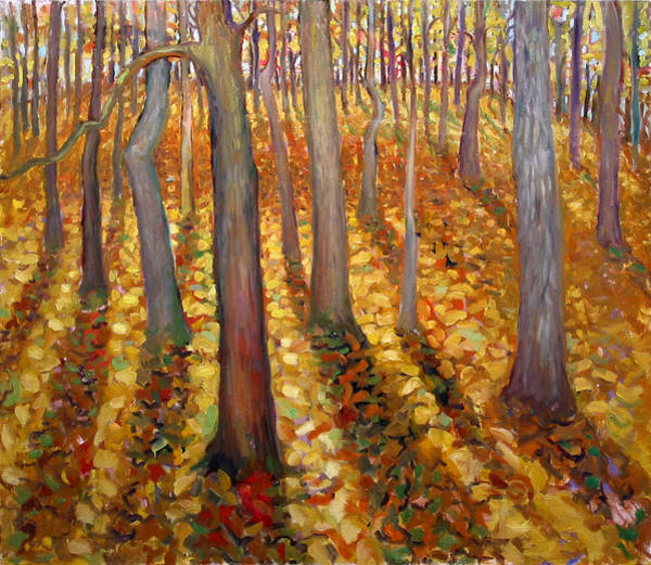 Painting - Dancing Trees by Paul Emory