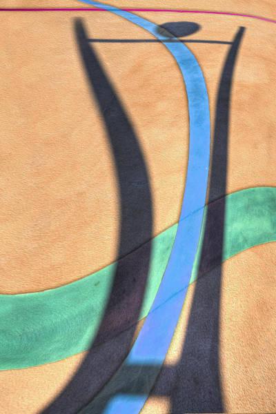 Digital Art - Dancing With A Shadow 1 by Paul Wear