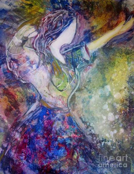 Faceless Painting - Dancing With The Lord by Deborah Nell