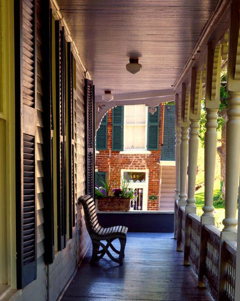 Wall Art - Photograph - Dandridge Front Porch by Ron Plasencia