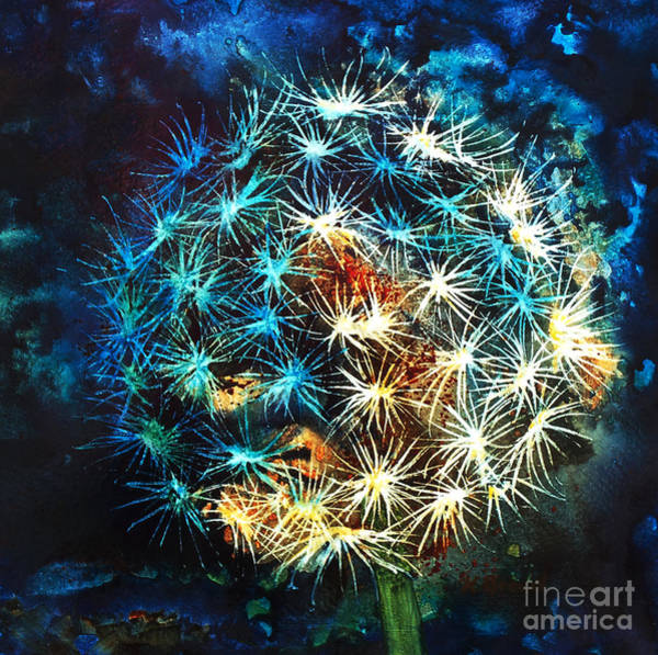 Wall Art - Painting - Dandy Puff by Kathy Braud