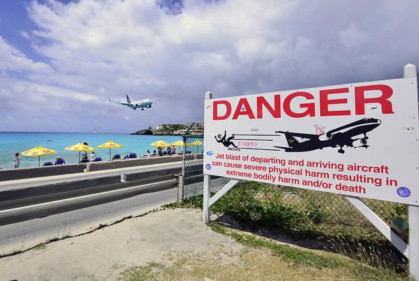 Photograph - Danger Landing Aircraft by Matt Swinden