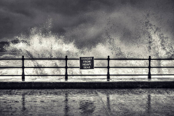 Heavy Photograph - Danger by Samuel Whitton