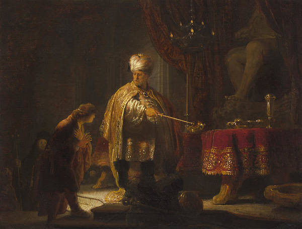 Painting - Daniel And Cyrus Before The Idol Bel by Celestial Images
