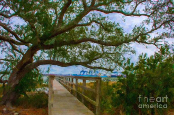 Digital Art - Daniel Island Dock by Dale Powell