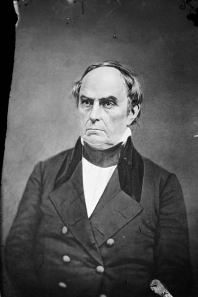 Photograph - Daniel Webster by Granger