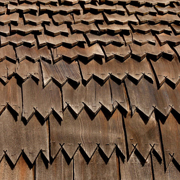 Solvang Photograph - Danish Roof Shingles by Art Block Collections