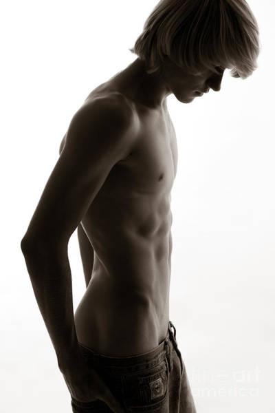 Nudity Photograph - Dank by David  Rusch