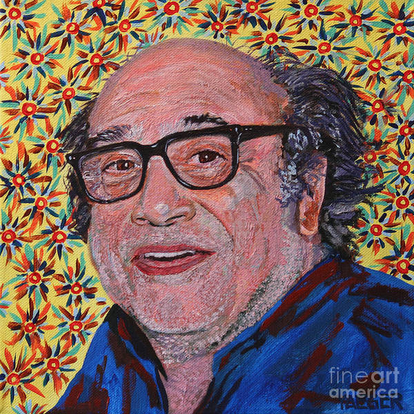 Danny Devito Wall Art - Painting - Danny Devito Portrait by Robert Yaeger