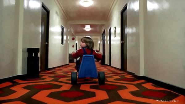 Digital Art - Danny Torrance In Hotel Overlook by Gabriel T Toro