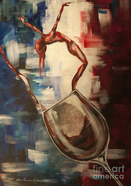 Painting - Dans Le Vin Hirondelle by Lisa Owen-Lynch