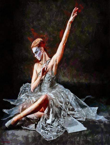 Painting - Danse Macabre by Tyler Robbins