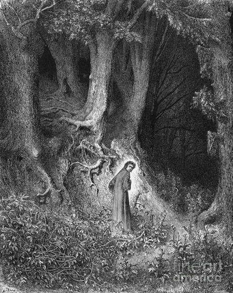 Wall Art - Photograph - Dante's Inferno, The Gloomy Wood by Middle Temple Library