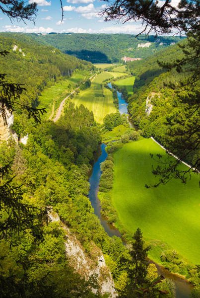 Donau Photograph - Danube Valley Beautiful Green Trees And Meadows by Matthias Hauser