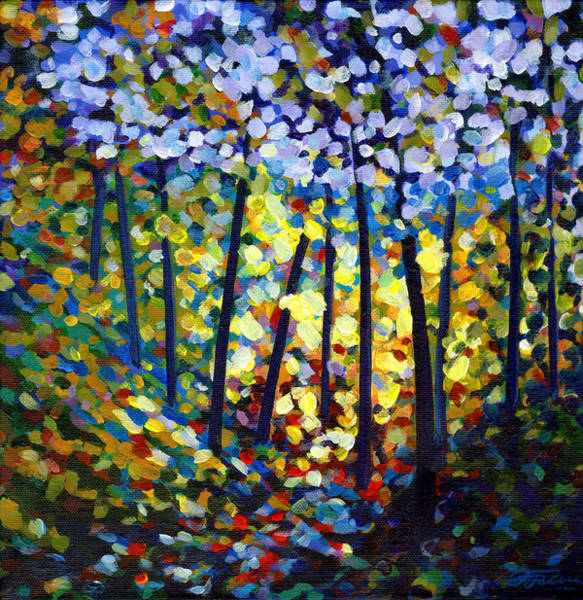 Painting - Dappled Light by Tanya Filichkin