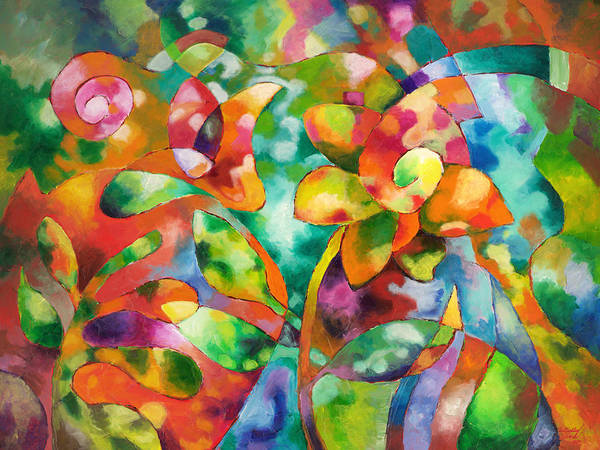 Painting - Dappled by Sally Trace