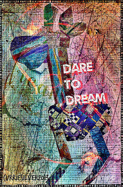Dare To Dream Art Print by Currie Silver