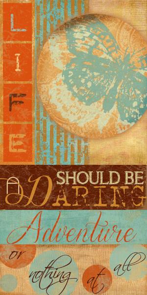 Novelties Painting - Daring Adventure by Marilu Windvand