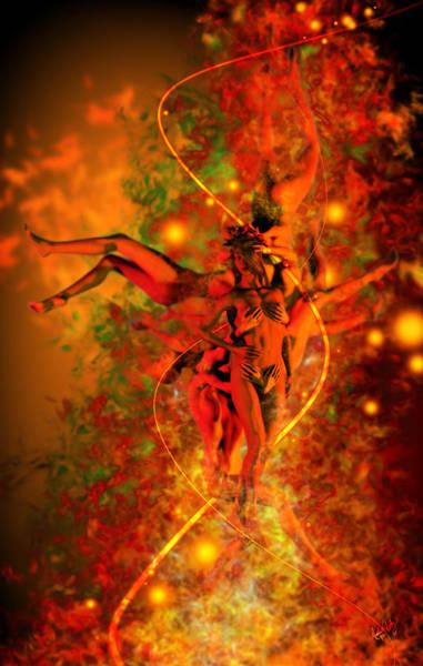 Digital Art - Dark Athena by Matt Lindley