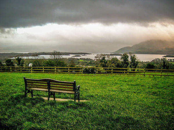 Photograph - Dark Clouds Over Killarney Lakes by James Truett