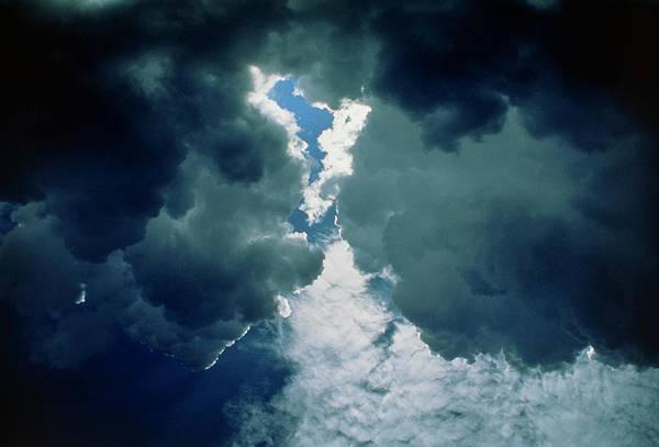 Wall Art - Photograph - Dark Cumulus Rain Clouds by Pekka Parviainen/science Photo Library
