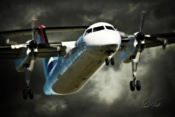 Kimberley Airport Photograph - Dark Express by Paul Job