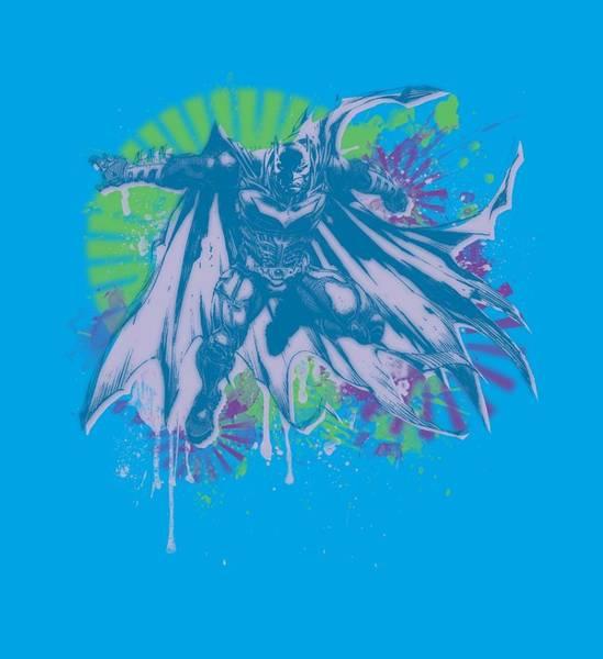 Dark Knight Digital Art - Dark Knight Rises - 80s Trash by Brand A