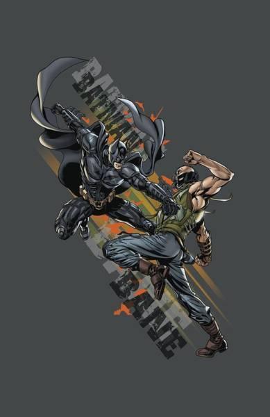 Dark Knight Digital Art - Dark Knight Rises - Attack by Brand A