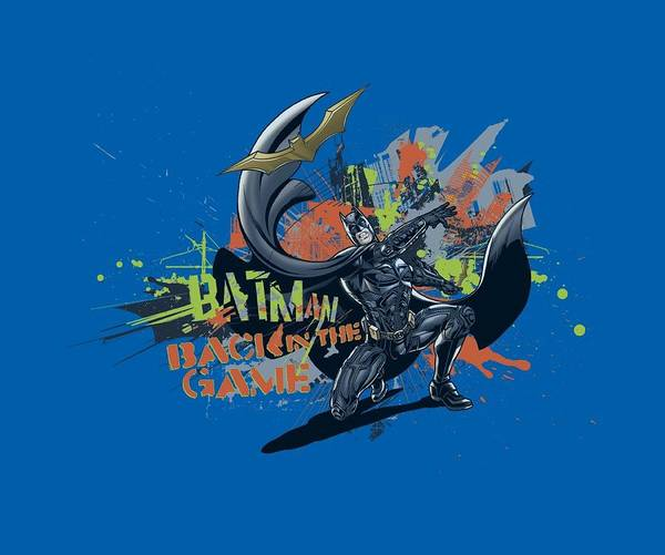 Dark Knight Digital Art - Dark Knight Rises - Back In The Game by Brand A