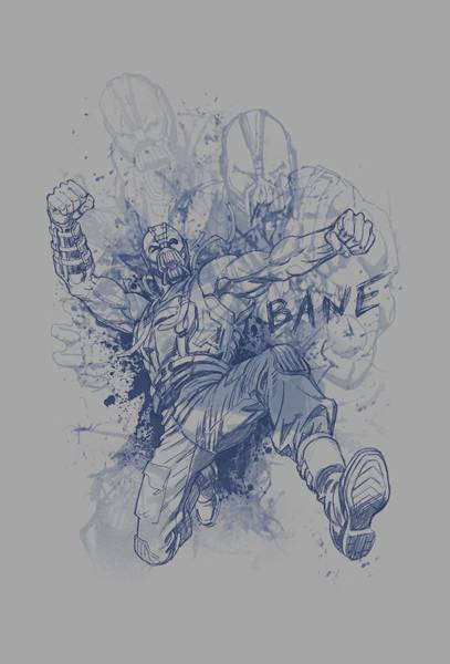 Dark Knight Digital Art - Dark Knight Rises - Bane Character Study by Brand A