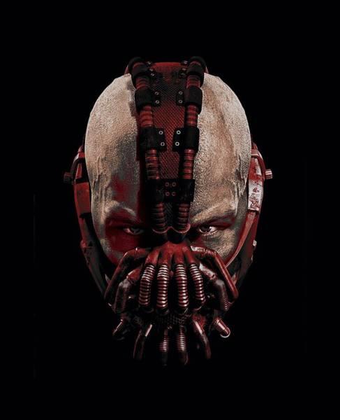 Dark Knight Digital Art - Dark Knight Rises - Bane Mask by Brand A