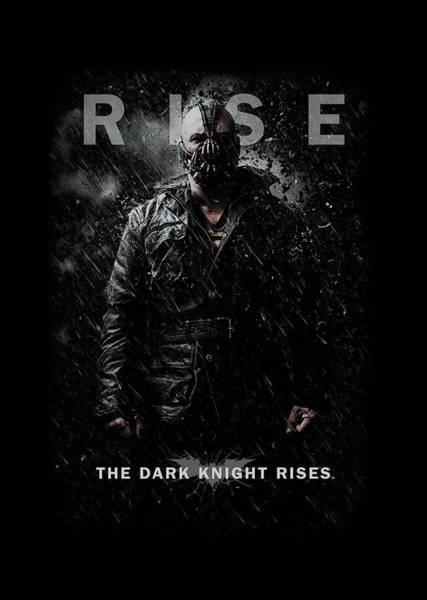 Dark Knight Digital Art - Dark Knight Rises - Bane Rise by Brand A