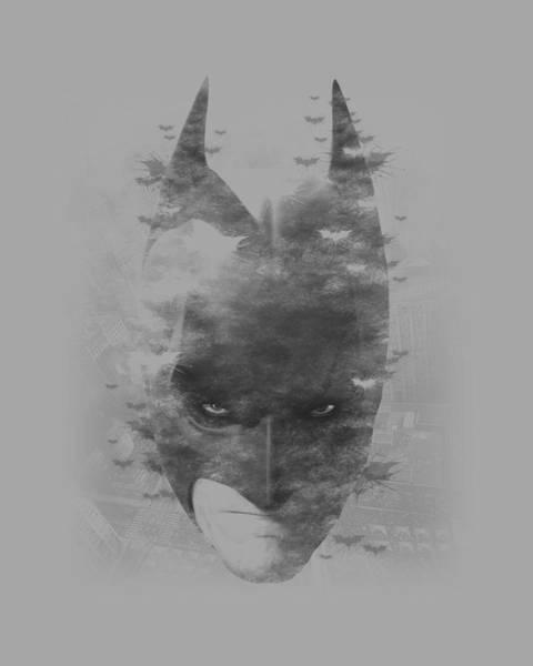 Dark Knight Digital Art - Dark Knight Rises - Bat Head by Brand A