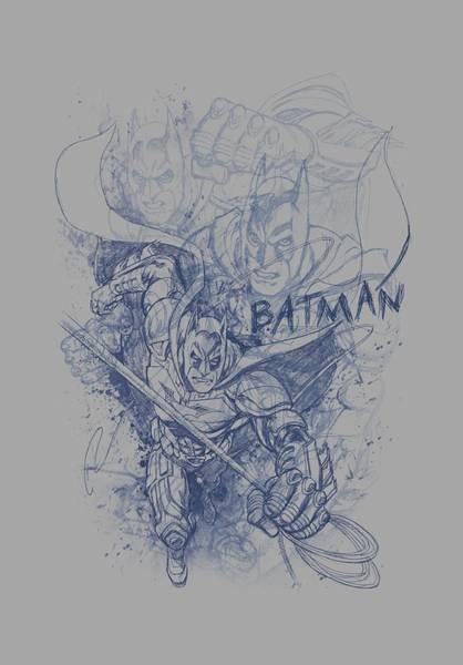 Dark Knight Digital Art - Dark Knight Rises - Batman Character Study by Brand A