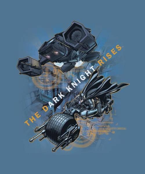 Dark Knight Digital Art - Dark Knight Rises - Batmans Toys by Brand A