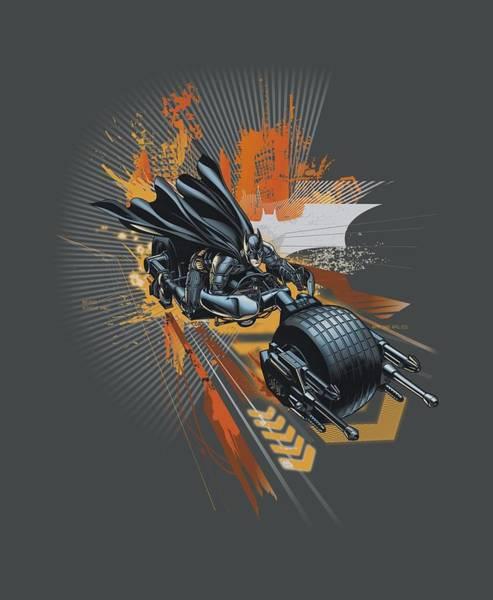 Dark Knight Digital Art - Dark Knight Rises - Batpod by Brand A