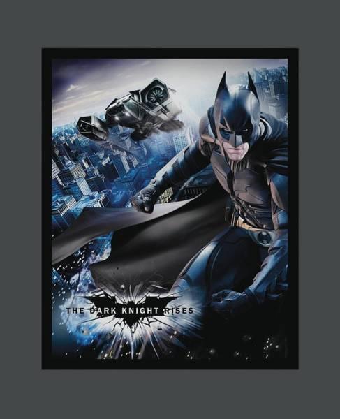Dark Knight Digital Art - Dark Knight Rises - Batwing Rises by Brand A