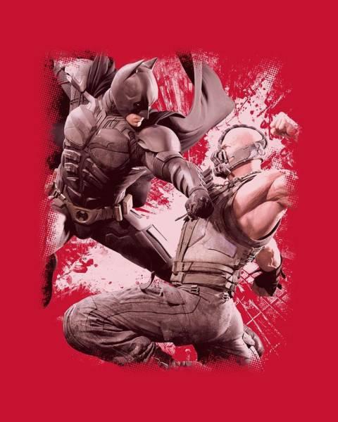 Dark Knight Digital Art - Dark Knight Rises - Final Fight by Brand A