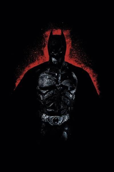 Dark Knight Digital Art - Dark Knight Rises - Into The Dark by Brand A
