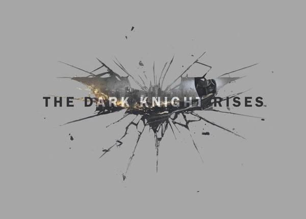 Dark Knight Digital Art - Dark Knight Rises - Rise Logo by Brand A